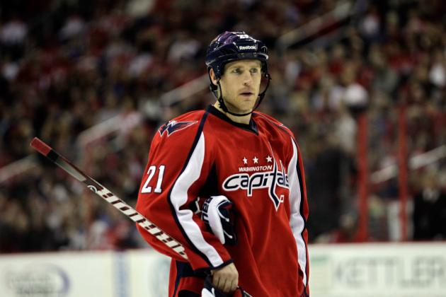 Washington Capitals: Brooks Laich May Find Himself Playing Wing This Season