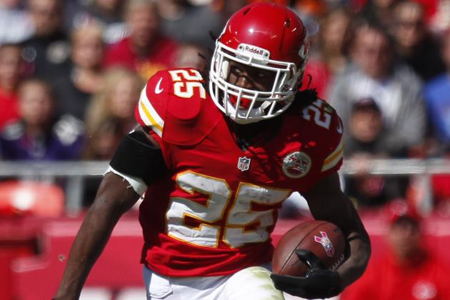 Jamaal Charles' Lack of Touches Explained by Chiefs' OC