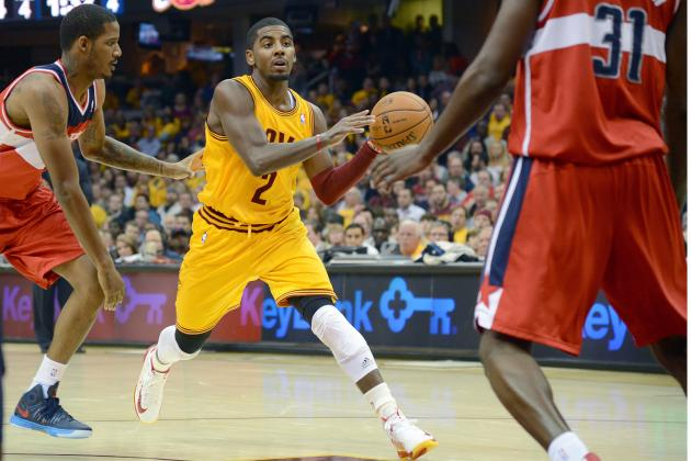 Kyrie Irving and Anderson Varejao Lead the Cavs to Victory in Season Opener