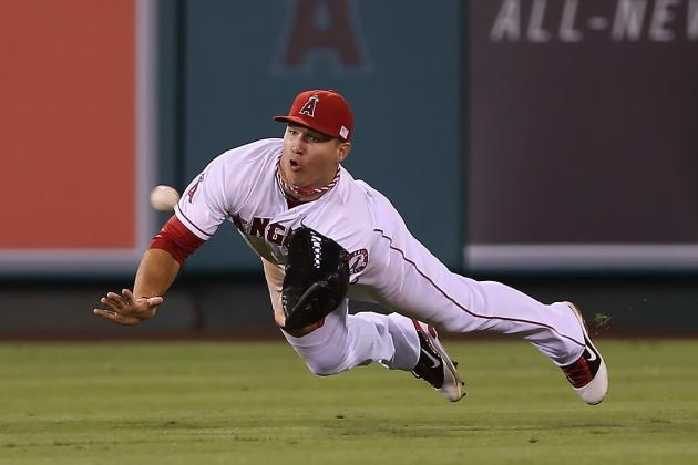 Los Angeles Angels of Anaheim: Mike Trout Does Not Win Gold Glove Award