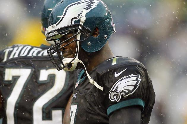 Eagles Coach Andy Reid Confirms That Michael Vick Remains