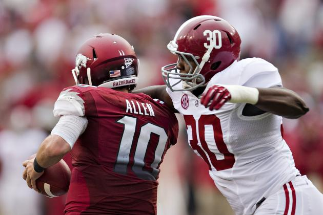 Bama Freshman Denzel Devall Reminds C.J. Mosley of Another Great Tide LB