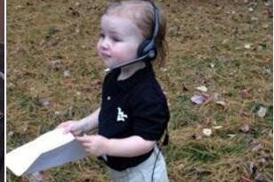 PHOTO: Baby Wears Dana Holgorsen Halloween Costume