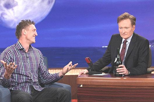 "Hunter Pence Was on ""Conan"" Last Night"