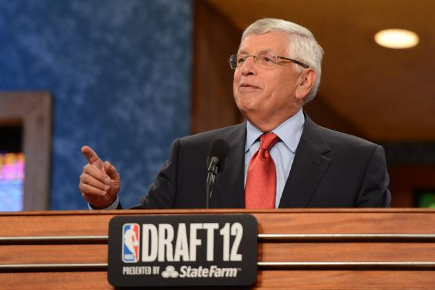 WATCH: NBA's David Stern Hears It from Crowd After 'Katrina' Flub