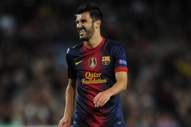 David Villa Hoping to Start More for Barcelona