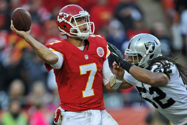Matt Cassel: Fantasy Owners Should Take a Chance with Chiefs QB vs. Chargers