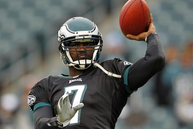 Michael Vick Remains Quarterback for Philadelphia Eagles vs. New Orleans Saints
