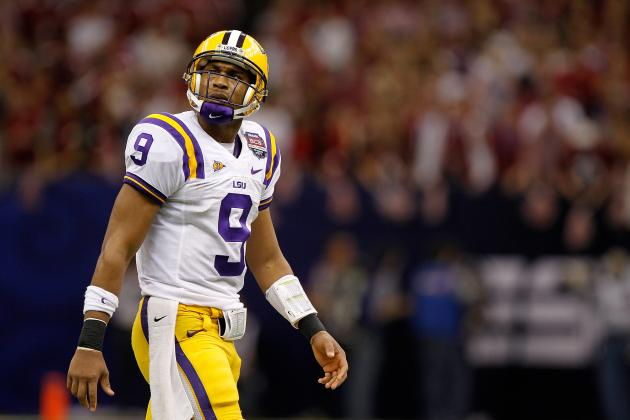 Jordan Jefferson: Former LSU QB Must Get Grip on Present to Save His Future