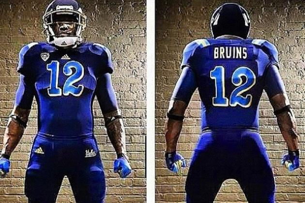 UCLA Previews Alternate Blue Uniforms for Arizona Game
