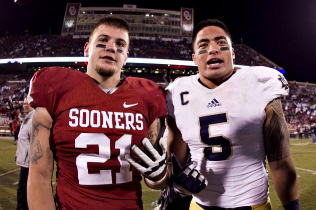 ND-OU Highest-Rated Game of Season