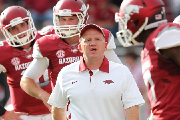 Will Paul Petrino Change Game Plan for Razorbacks Against Tulsa?