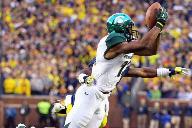 Michigan State Football: WR Bennie Fowler Is Seeing His Stock Rise