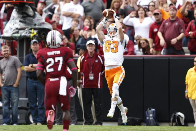 Vols' Rogers Making Most of His Senior Season
