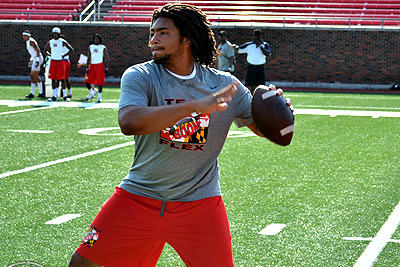 Randy Edsall: Terps Committed to Shawn Petty at Quarterback