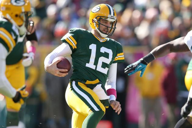 Aaron Rodgers: 'Rocked,' Not 'Staggered'