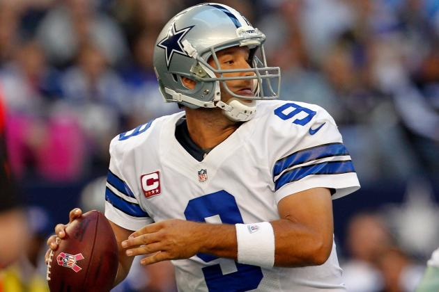 Fantasy Football Week 9: Tony Romo and More Stars Who Should Be Benched