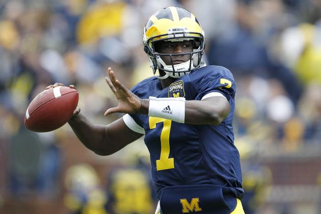 Michigan Football: Why Moving Devin Gardner Back to QB Is the Right Call