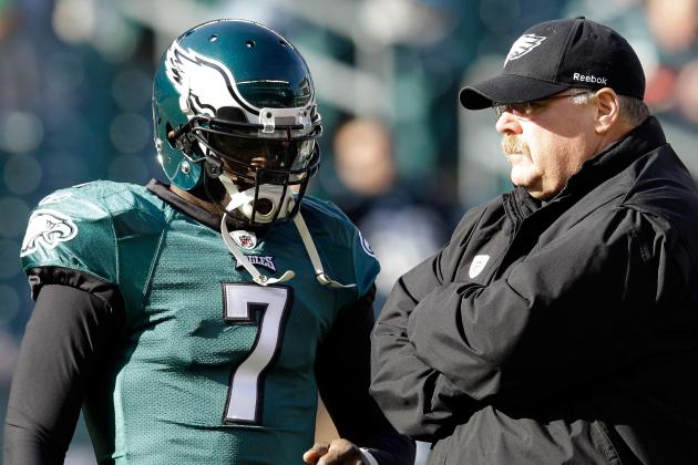 Eagles Coach Andy Reid Chooses to Die with Michael Vick