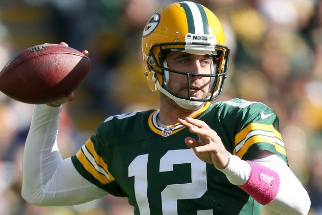 Aaron Rodgers Says the Packers' Running Game Isn't Good Enough