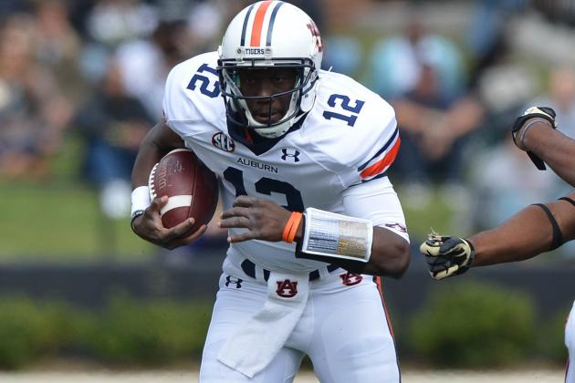 New Starting QB Jonathan Wallace Brings Energy to Auburn Practice