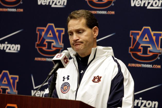 It's Not so Much Xs and Os, Execution's the Problem, Says Chizik