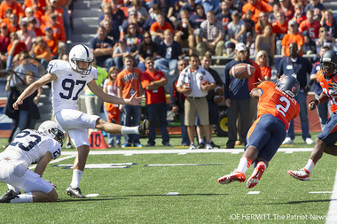 Penn State Coach Bill O'Brien Says His Kicker Is Dealing with a Minor Leg Issue