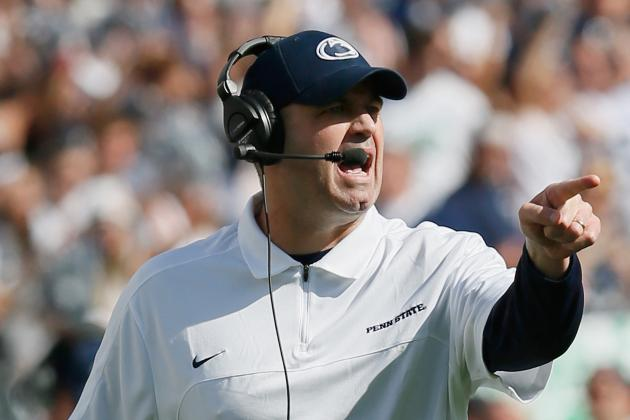 Penn State Tries to Put Loss to Ohio State in Rearview Mirror