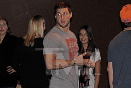 Tim Tebow Spotted on Date with Reported Girlfriend Camilla Belle
