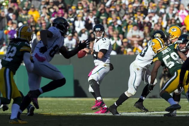 AFC South All-22 Review: Blaine Gabbert's Second Half Against Packers