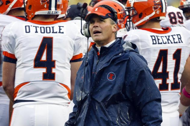 Illinois Football: Tim Beckman's Weight Loss Is a Dangerous Sign