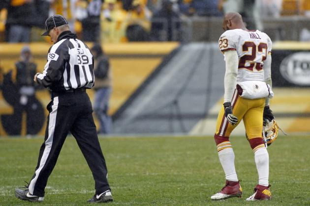 Roger Goodell Criticizes DeAngelo Hall's Referee Tirade