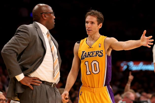 Breaking Down How LA Lakers Can Maximize Steve Nash's Talents