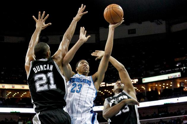 San Antonio Spurs vs. New Orleans Hornets: Live Score, Results and Highlights