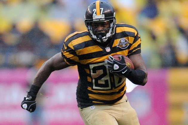 Dwyer Joins List of Injured Steelers Tailbacks