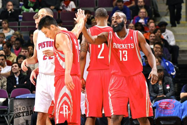 Houston Rockets vs Detroit Pistons: Live Score, Results and Game Highlights