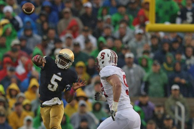 Notre Dame Football: Why Everett Golson Is the Next Irish King