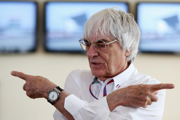 Bernie Ecclestone's Grand Plan to Reduce Formula 1 to Only 4 European Races