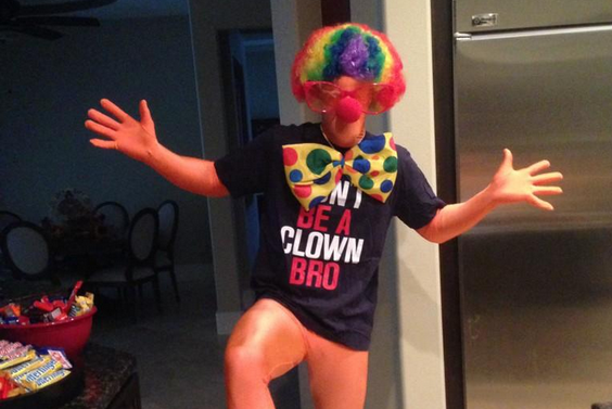 Bryce Harper Is a Clown, Bro, This Halloween