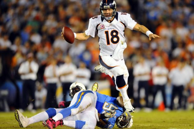 Breaking Down How Peyton Manning Has Adjusted to NFL Life Post-Injury