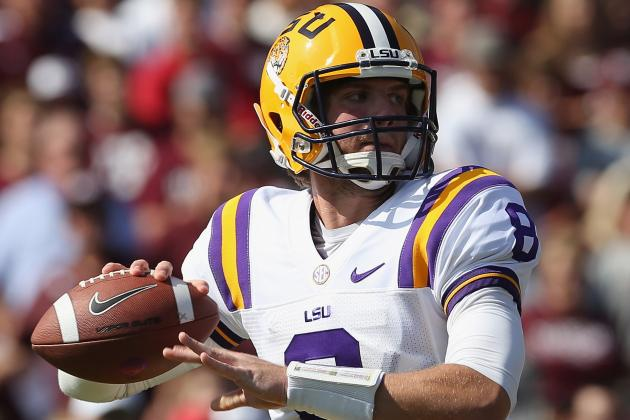Alabama vs. LSU: Why Tigers Need Zach Mettenberger to Play the Game of His Life