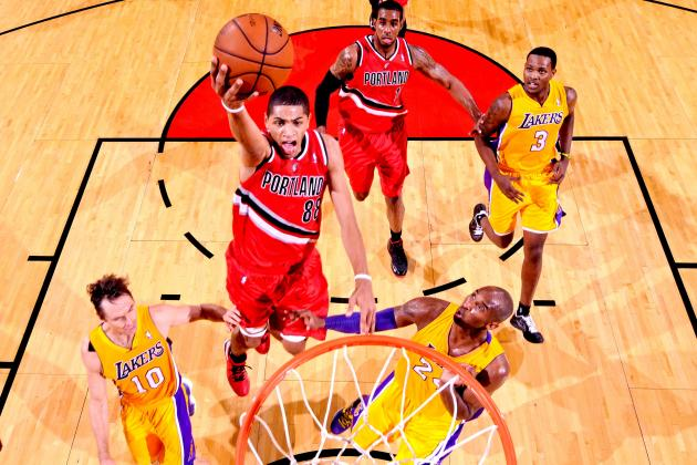 L.A. Lakers vs. Portland Trail Blazers: Live Score, Results and Game Highlights