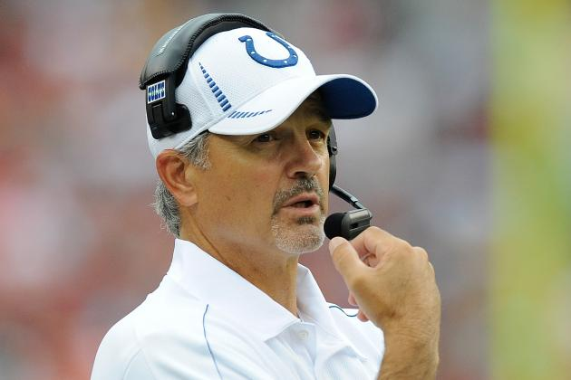 Indianapolis Colts Coach Chuck Pagano: 1 Month After Leukemia Diagnosis