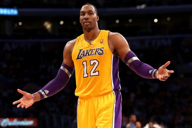 Dwight Howard: LA Lakers Need to Build Offense Around Star Center