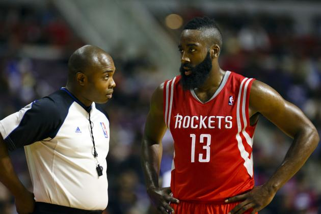 James Harden Wins NBA Player of the Night After Sizzling Rockets Debut