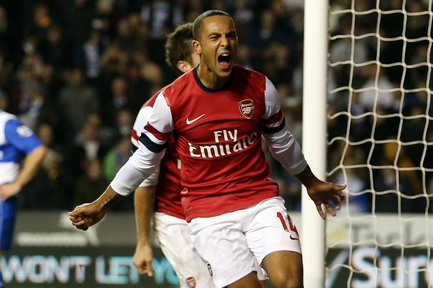 Arsenal: Play Theo Walcott Through the Middle; He's Earned It