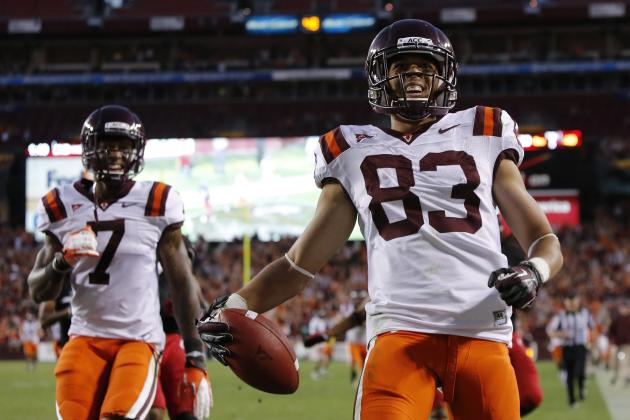Virginia Tech Takes Egalitarian Approach with Its Wide Receivers