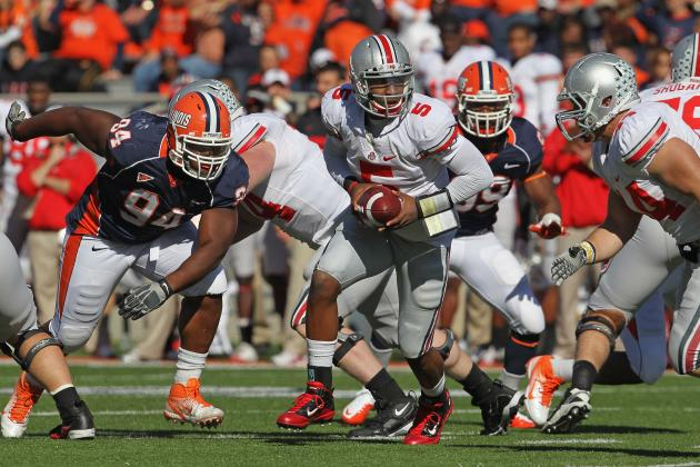 Illini Face Uphill Climb in Clash with Undefeated Buckeyes