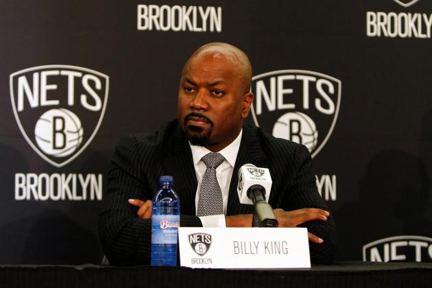 GM Billy King Thrilled to Be Leading Nets