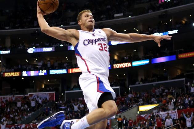 Clippers Blake Griffin Takes Slam Dunk Antics to Nike's Jordan Brand